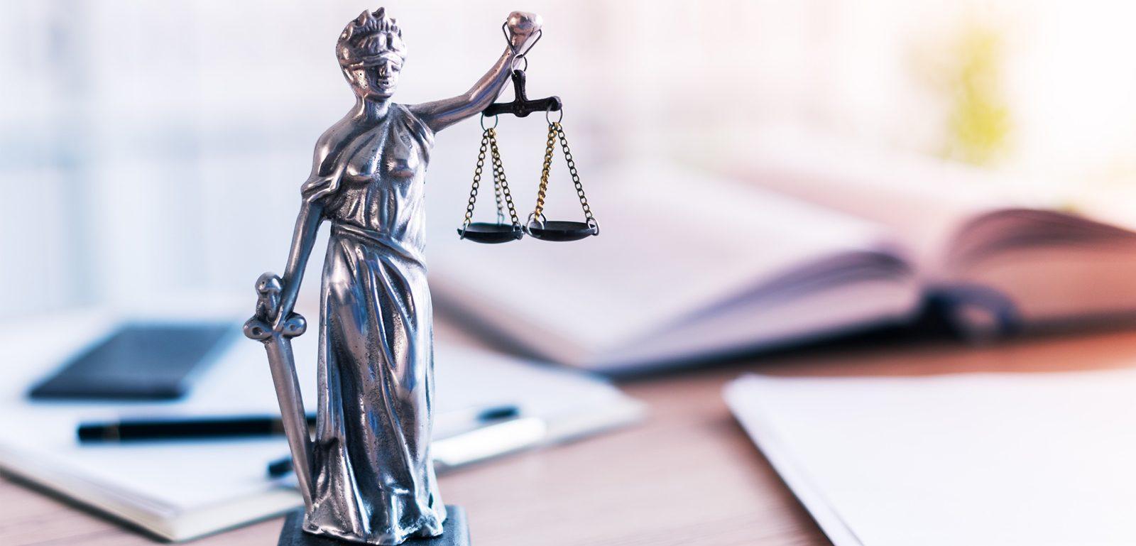 allégorie de la justice chasse