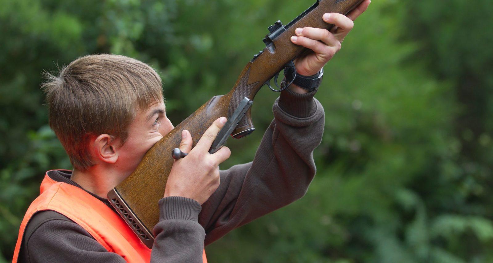 jeune chasseur