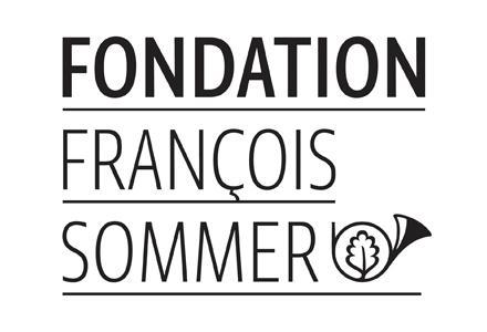 logo fondation François Sommer trompe de chasse