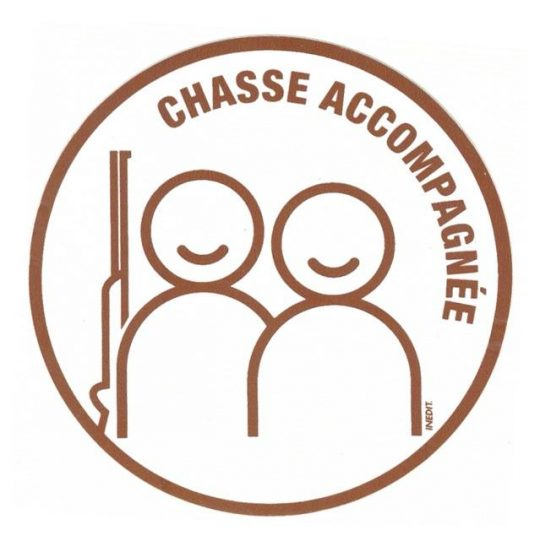 logo chasse accompagnée
