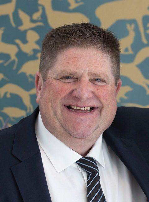 Willy Schraen président de la FNC photo officielle