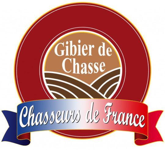 logo gibier de chasse label viande de gibier