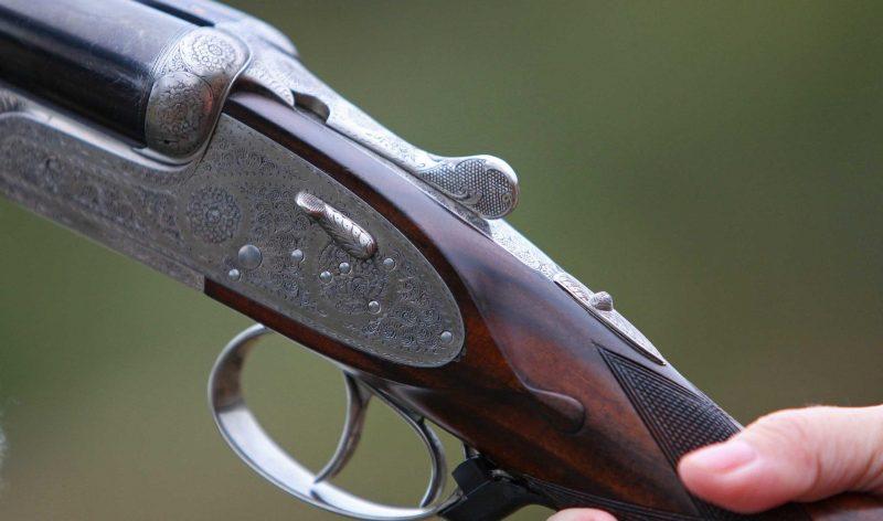 Photo d'un fusil de chasse