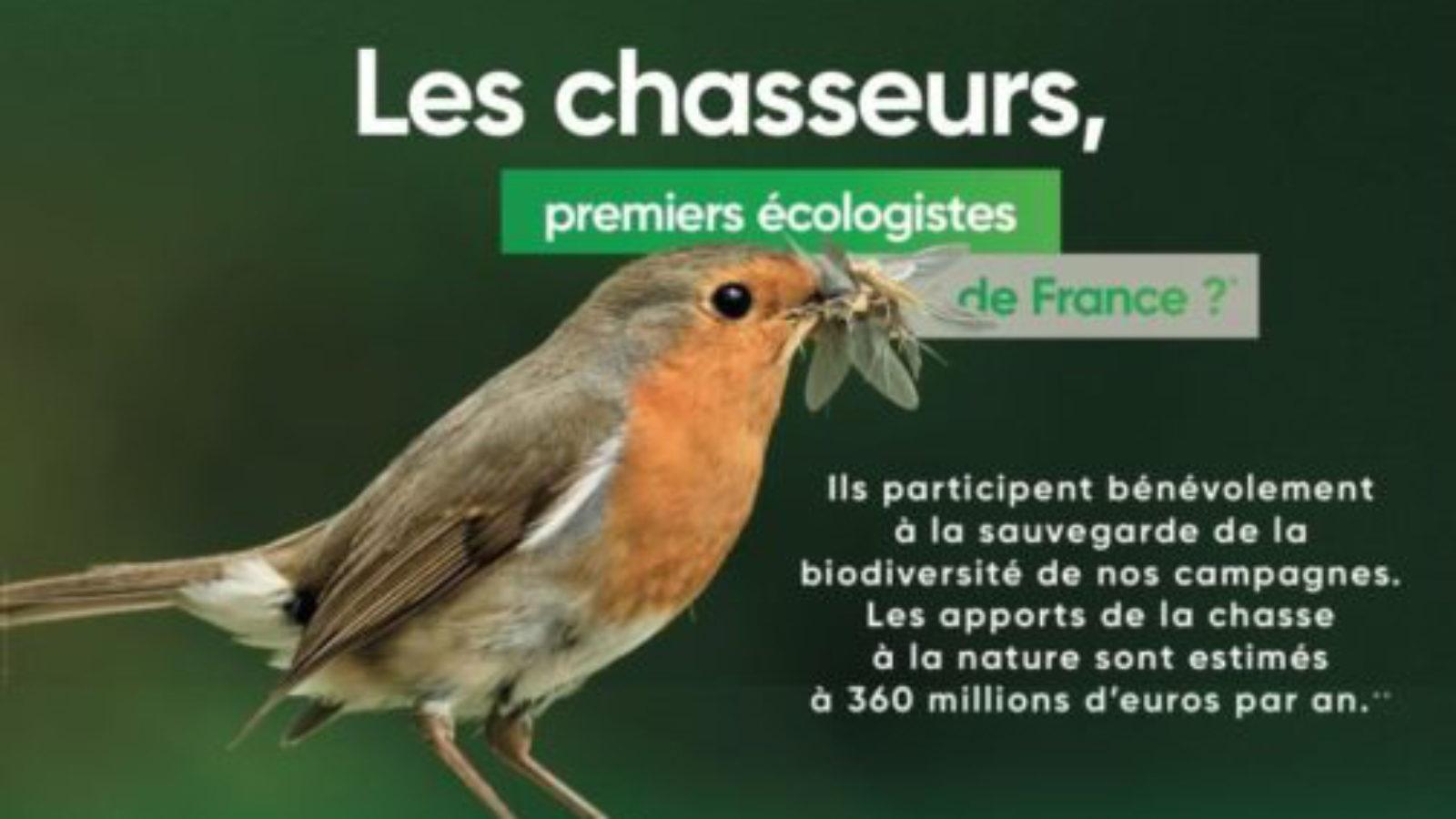 Chasseurs, premiers écologistes de France ?