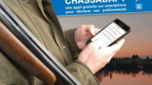 application mobile chasseurs ChassAdapt