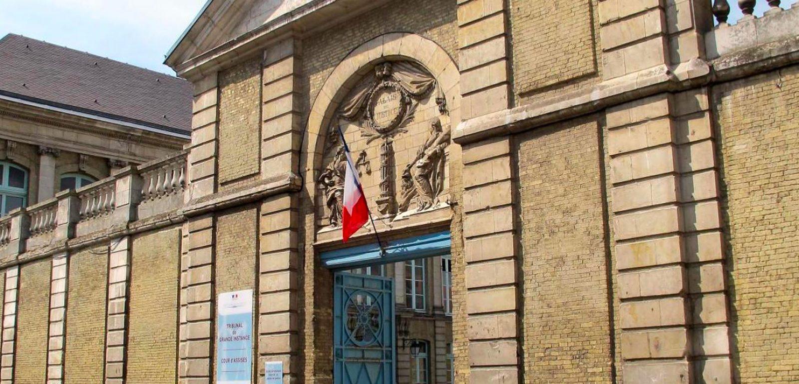 Palais justice de Saint Omer