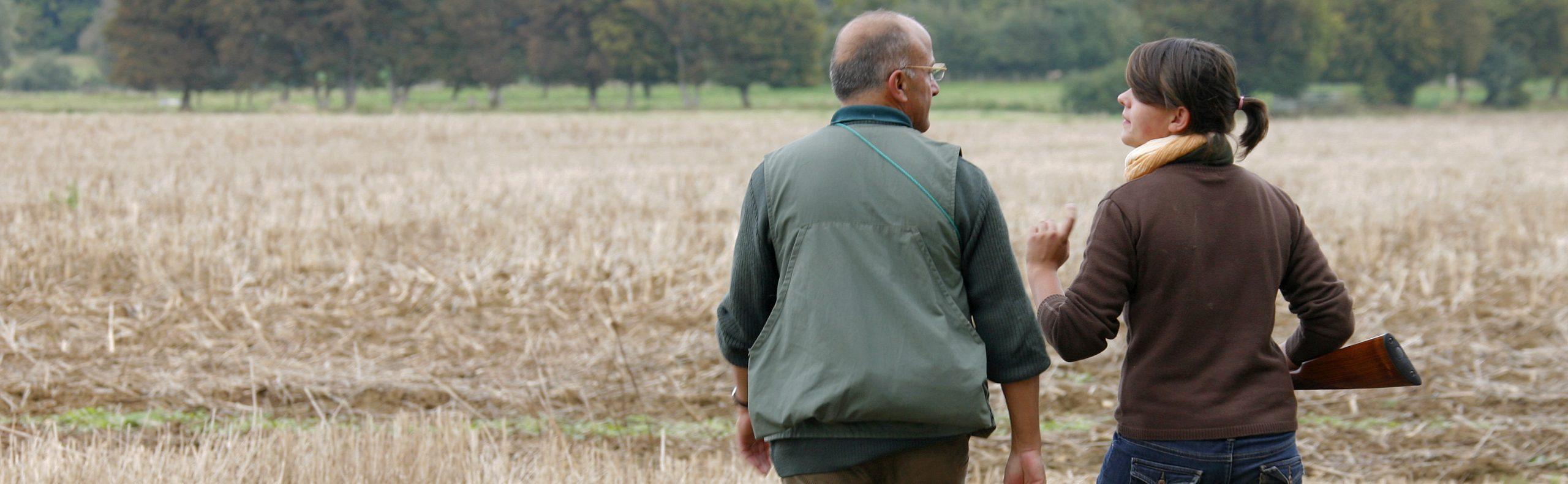 chasse accompagnée avec un parrain