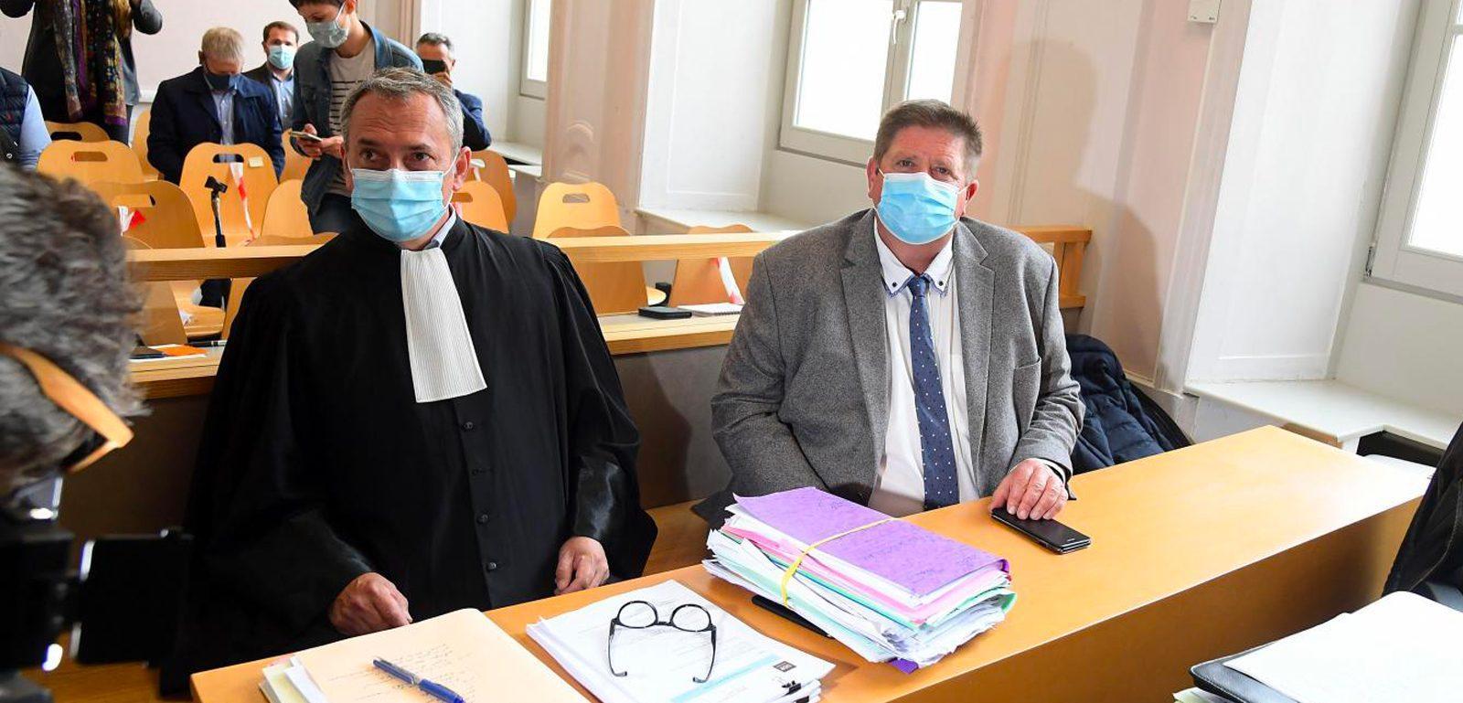 Procès menaces contre Willy Schraen