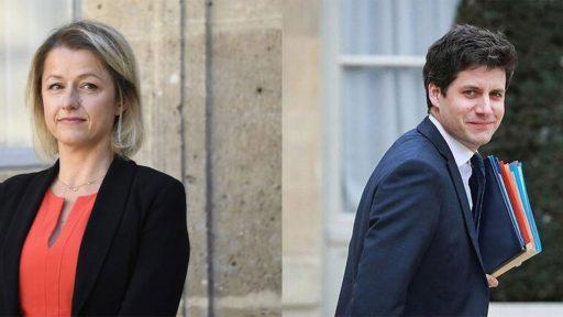 Les Ministres Barbara Pompili et Julien Denormandie