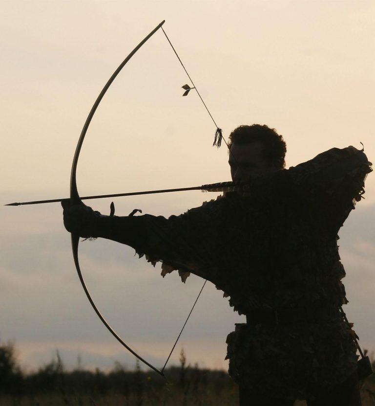 arc de chasse longbow crépuscule